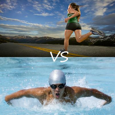 running-vs-swimming