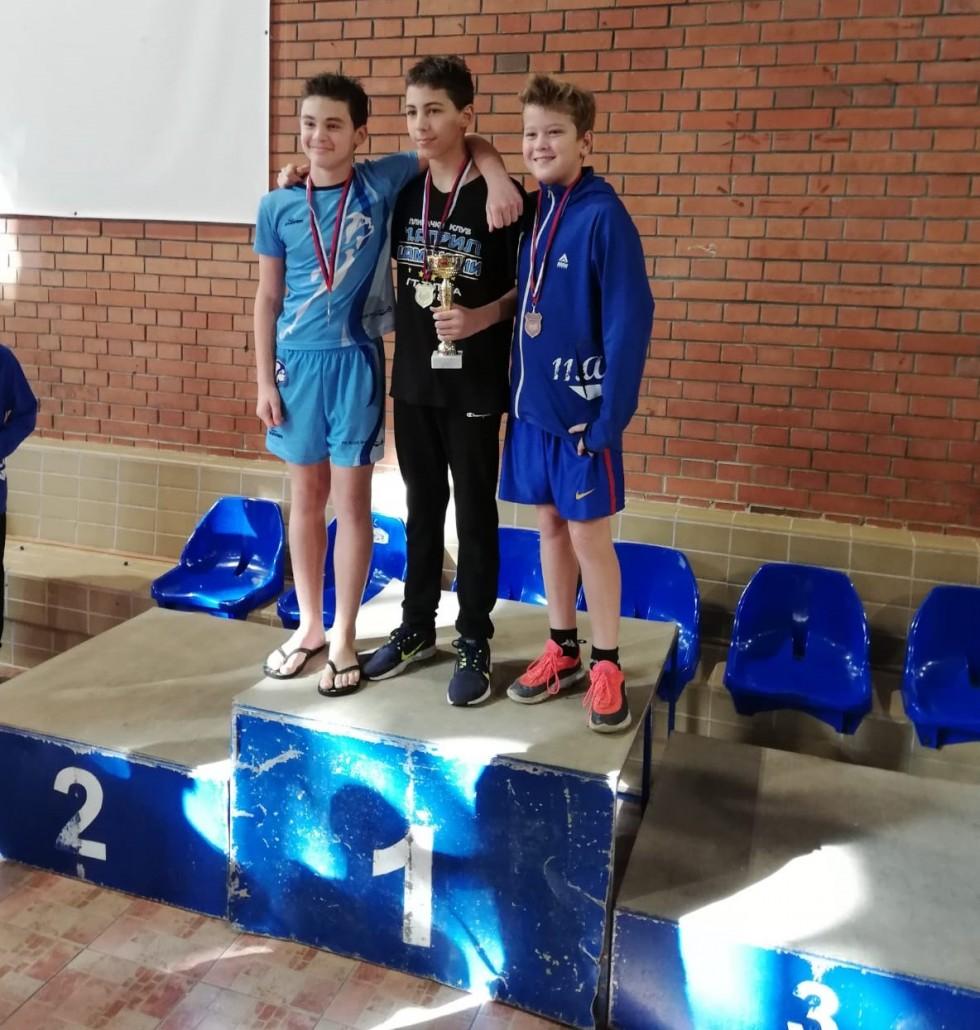 Jovanovic Luka 11A - prva na Ligi Bg - nov 2019